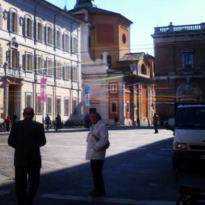 Leghiamo la città con un filo - Piazza del Popolo - Ravenna